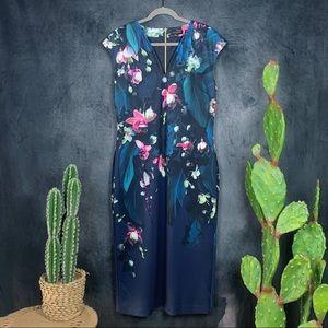Ted Baker London Antonya Floral Bodycon Dress A409